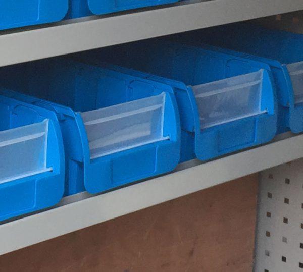 Large Plastic Bin - Box of 10pcs
