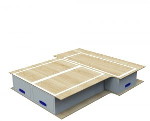 Small Van False Floor Drawers L1 No.1